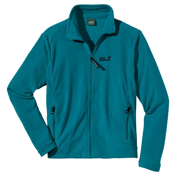 JACK WOLFSKIN MEN ATMOSPHERE FULL ZIP BALTIC BLUE