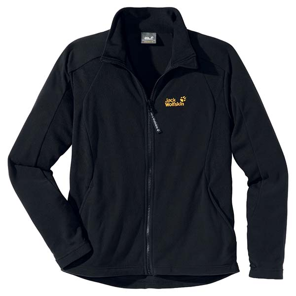 JACK WOLFSKIN MEN ENDURANCE FULL ZIP BLACK