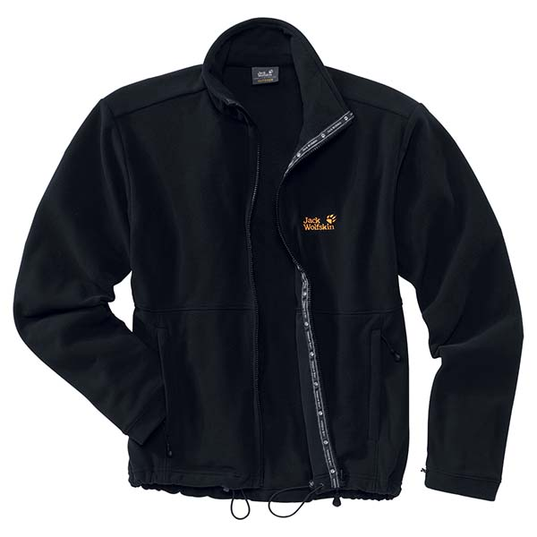 JACK WOLFSKIN MEN KIRUNA JACKET BLACK