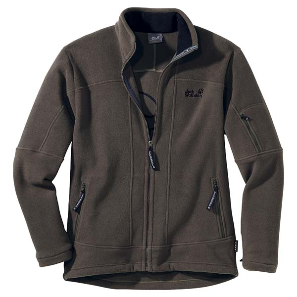 JACK WOLFSKIN MEN ROCK JACKET GRANITE