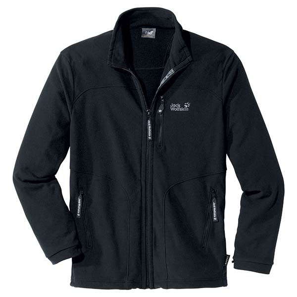 JACK WOLFSKIN MEN BARDU JACKET BLACK