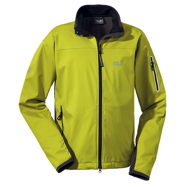 JACK WOLFSKIN MEN ELECTRON SOFTSHELL WILD LIME