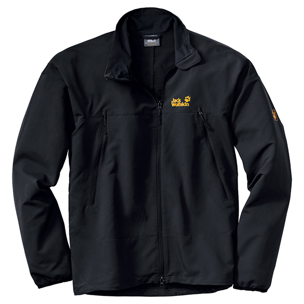 JACK WOLFSKIN MEN ATMOSPHERE SOFTSHELL BLACK