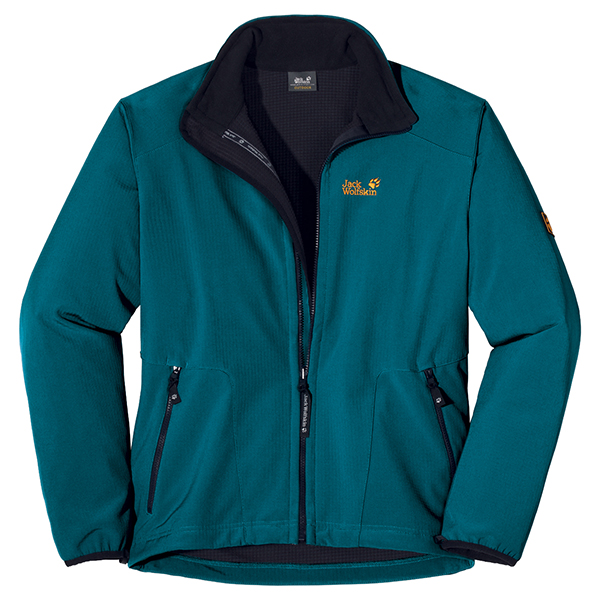 JACK WOLFSKIN MEN HYPERSCOPE JACKET BALTIC BLUE