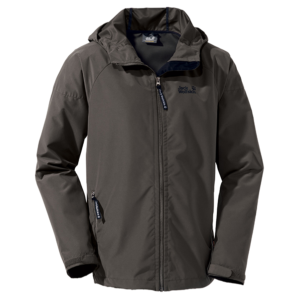 JACK WOLFSKIN MEN WINDY POINT GRANITE
