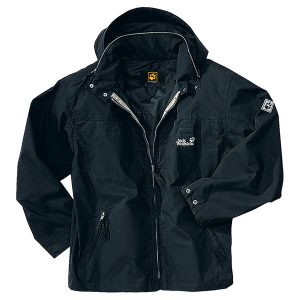 JACK WOLFSKIN MEN SILK ROAD BLACK
