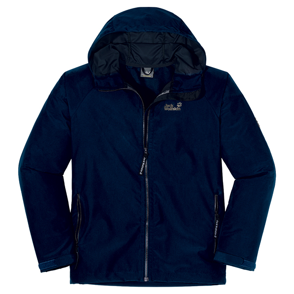 JACK WOLFSKIN MEN WINDY POINT NIGHT BLUE