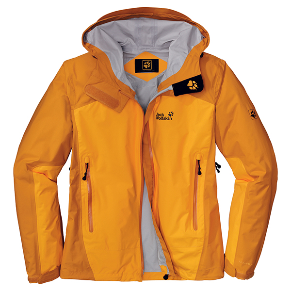 JACK WOLFSKIN MEN ACCELERATE XT JACKET BURLY YELLOW