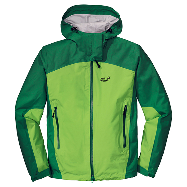 JACK WOLFSKIN MEN ACCELERATE XT JACKET LEAF GREEN