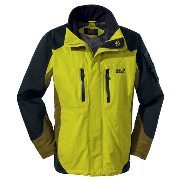 JACK WOLFSKIN MEN ALL TERRAIN JACKET WILD LIME