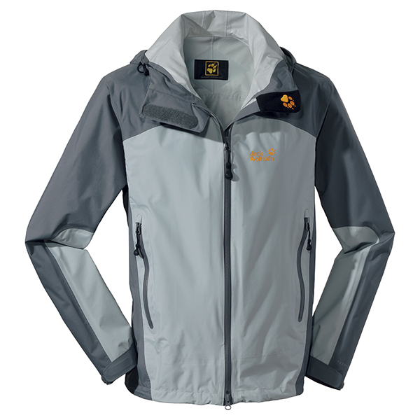 JACK WOLFSKIN MEN ACCELERATE XT JACKET SILVER GREY