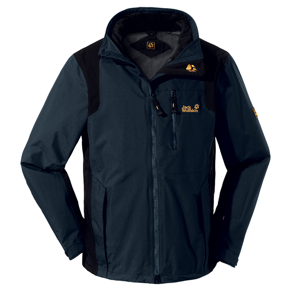 JACK WOLFSKIN MEN RADIUS JACKET PHANTOM