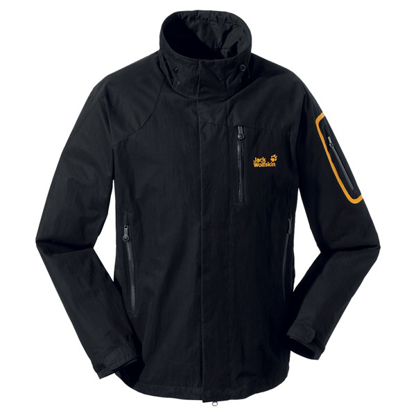JACK WOLFSKIN MEN DOVRE JACKET BLACK