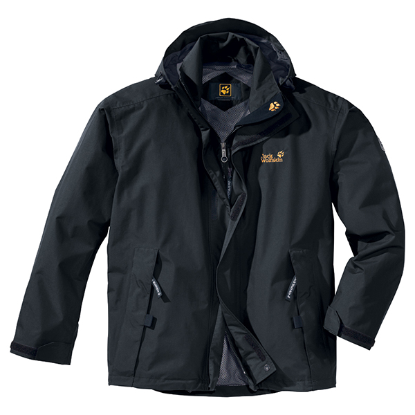 JACK WOLFSKIN MEN HIGHLAND SHADOW BLACK
