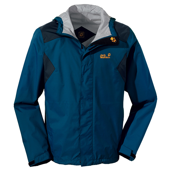 JACK WOLFSKIN MEN RAINTOOL ENSIGN BLUE
