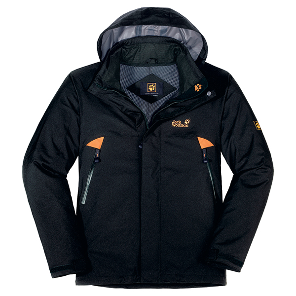 JACK WOLFSKIN MEN CATARACT XT JACKET BLACK