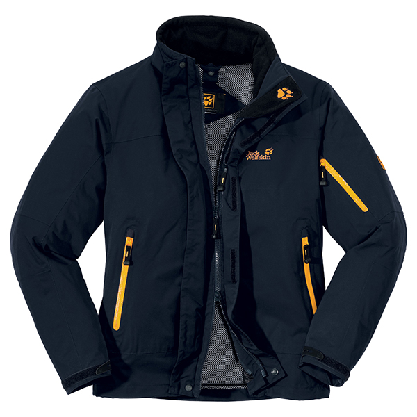 quite nice new style finest selection CHEAP JACK WOLFSKIN MEN RESOLUTION JACKET BLUE GRAPHITE FOR SALE