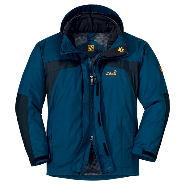 JACK WOLFSKIN MEN TOPAZ JACKET ENSIGN BLUE