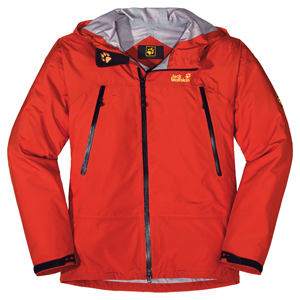 JACK WOLFSKIN MEN DISSENTER JACKET SPICY ORANGE