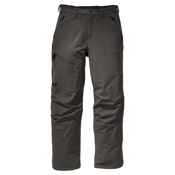 JACK WOLFSKIN MEN ACTIVATE PANTS GRANITE