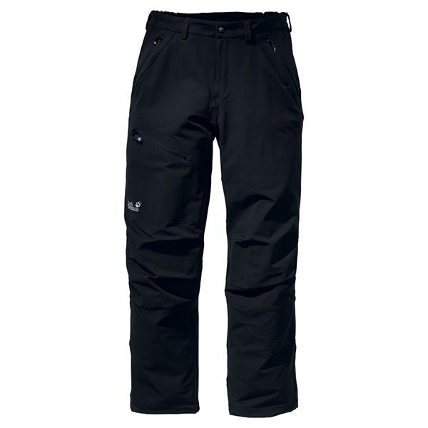 JACK WOLFSKIN MEN ACTIVATE PANTS BLACK