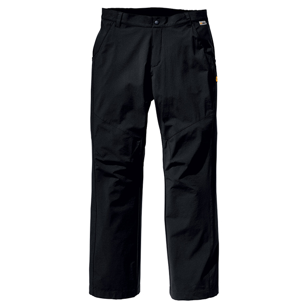 JACK WOLFSKIN MEN FULL STRETCH PANTS BLACK