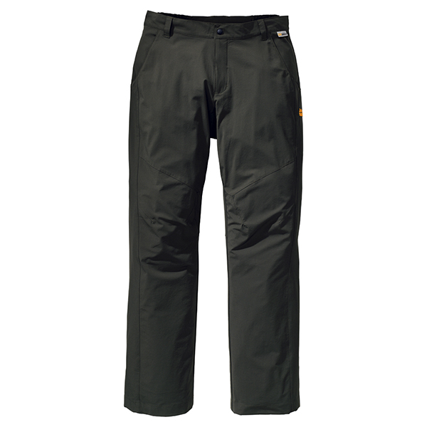 JACK WOLFSKIN MEN FULL STRETCH PANTS OLIVE BROWN