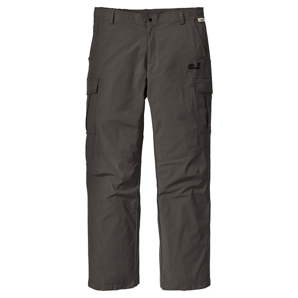 JACK WOLFSKIN MEN FULL STRETCH XT PANTS GRANITE