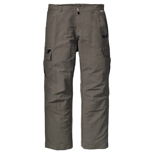 JACK WOLFSKIN MEN TRAIL PANTS BASALT
