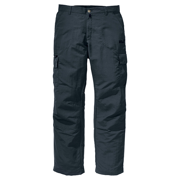 JACK WOLFSKIN MEN TRAIL PANTS SHADOW BLACK