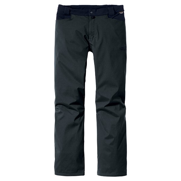 JACK WOLFSKIN MEN HIGHLAND FLEX PANTS SHADOW BLACK