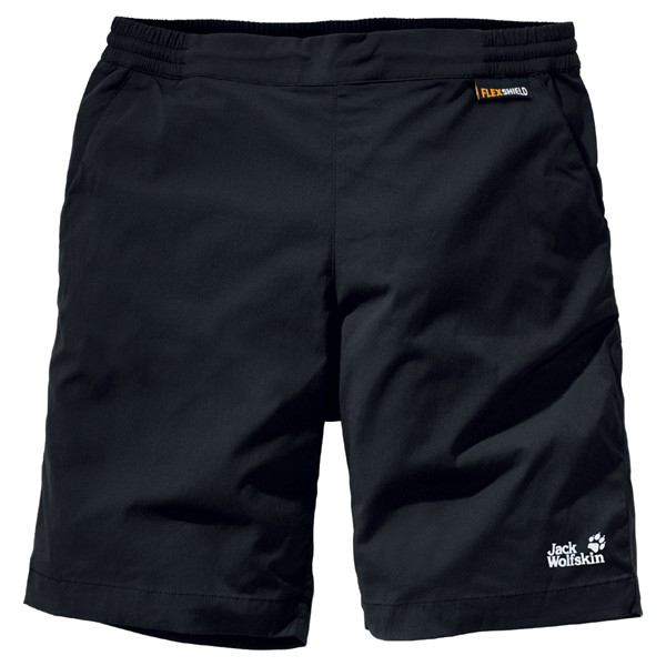 JACK WOLFSKIN MEN ACCELERATE SHORTS BLACK