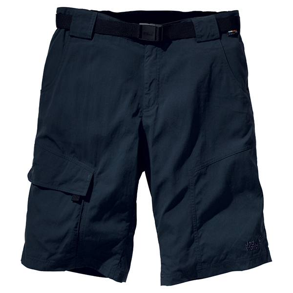 JACK WOLFSKIN MEN HOGGAR SHORTS PHANTOM