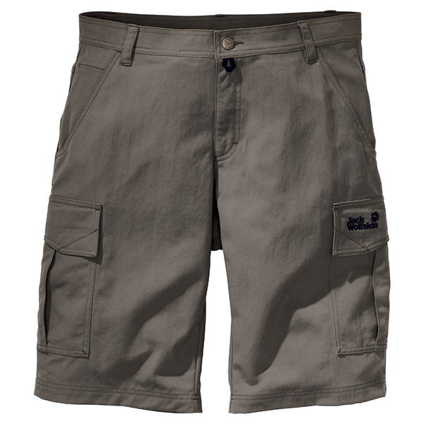 JACK WOLFSKIN MEN ROCK SHORTS BASALT