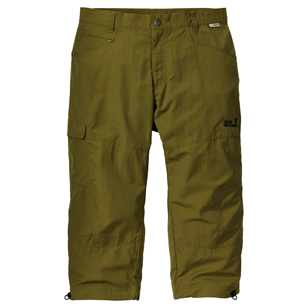 JACK WOLFSKIN MEN SAVANNA 3/4 PANTS TUNDRA GREEN