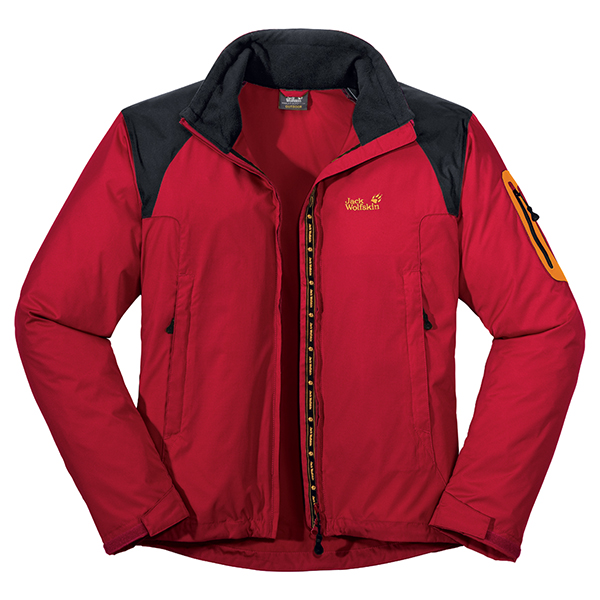 JACK WOLFSKIN MEN CHINOOK JACKET TANGO RED
