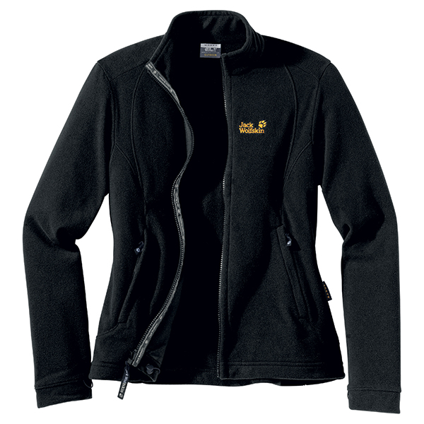 JACK WOLFSKIN WOMEN KIRUNA JACKET BLACK