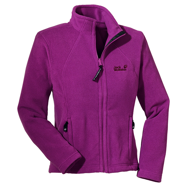 JACK WOLFSKIN WOMEN MOONRISE JACKET CRIMSON
