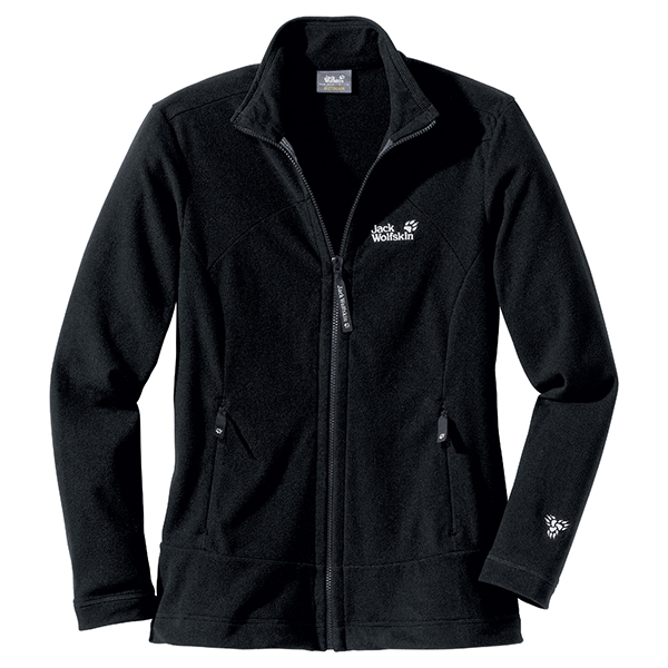 JACK WOLFSKIN WOMEN TARFALA JACKET BLACK