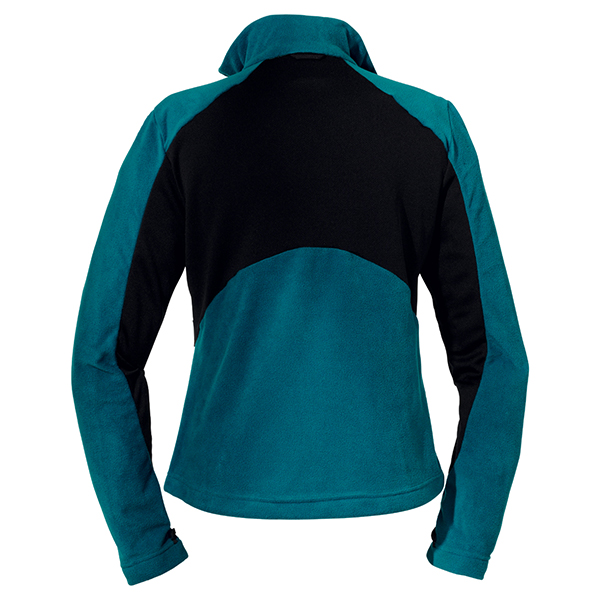 JACK WOLFSKIN WOMEN ENDURANCE FULL ZIP BALTIC BLUE