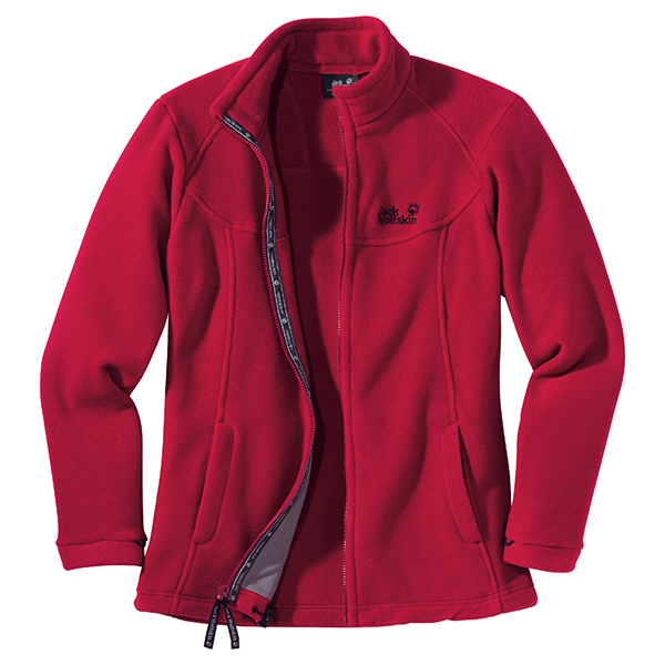 JACK WOLFSKIN WOMEN WINNIPEG INDIAN RED