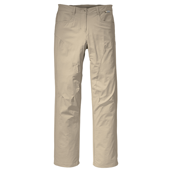 JACK WOLFSKIN WOMEN FULL STRETCH PANTS PURE SANDS