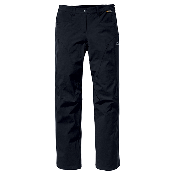 JACK WOLFSKIN WOMEN FULL STRETCH PANTS BLACK