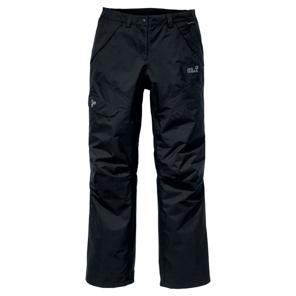 JACK WOLFSKIN WOMEN ALL TERRAIN PANTS BLACK