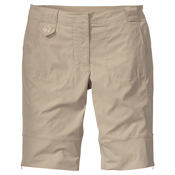 JACK WOLFSKIN WOMEN MEDINA SHORTS PURE SANDS