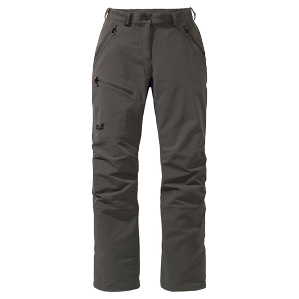 JACK WOLFSKIN WOMEN ACTIVATE PANTS GRANITE