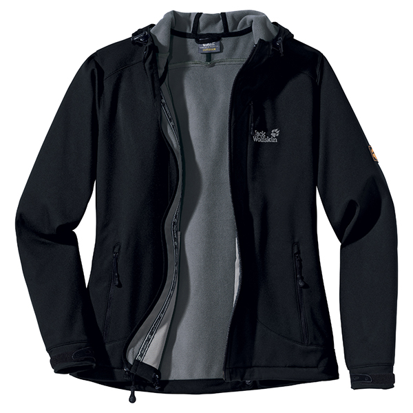 JACK WOLFSKIN WOMEN SUPERSONIC XT JACKET BLACK