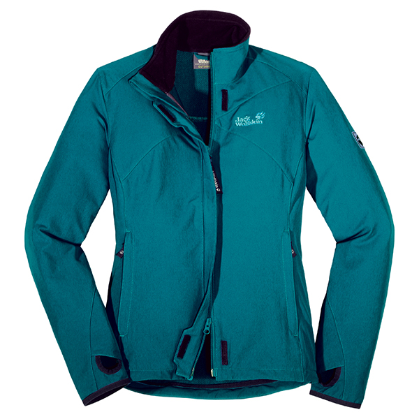 JACK WOLFSKIN WOMEN ACTIVATE JACKET BALTIC BLUE
