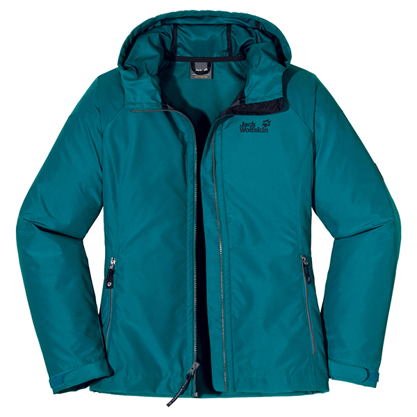JACK WOLFSKIN WOMEN WINDY POINT BALTIC BLUE