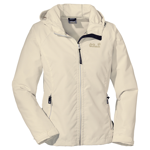 JACK WOLFSKIN WOMEN WINDY POINT WHITE SAND